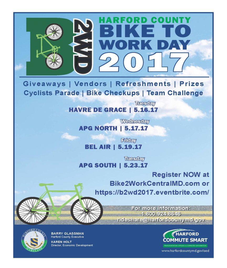 Bike to Work Day 2017 details
