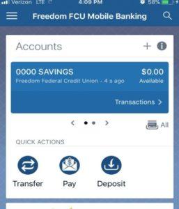 Banking app deposit icon