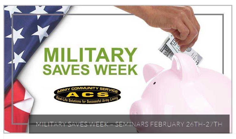 Military saves wk 2019