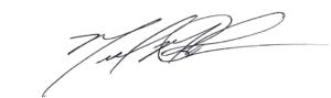 CEO Signature