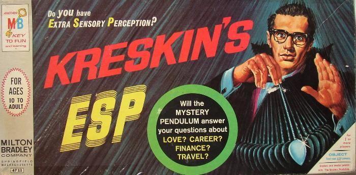 Kreskin's ESP Board Game