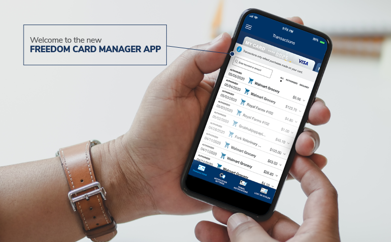 Freedom's Card Manager